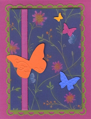 Chalked Petals Butterfly Card (2)