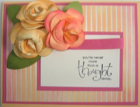 Paper Roses - Carmen