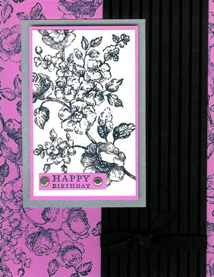 Pink & Black Elements of Style 1