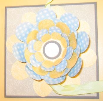 Carmen DeBruce - Flower folds card