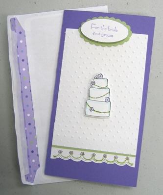 Linda - bride card
