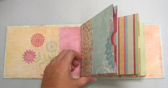 Carmen - fake bag scrapbook pastel