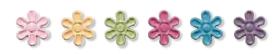 Sampler - flower brads