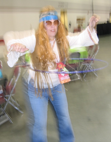 Flower power - angie hula hoop