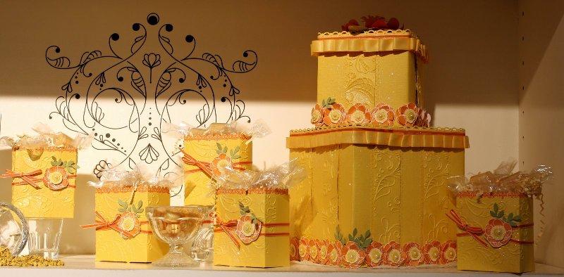 Yellow boxes