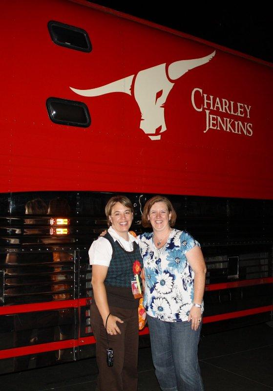Angie & darla - cj tour bus
