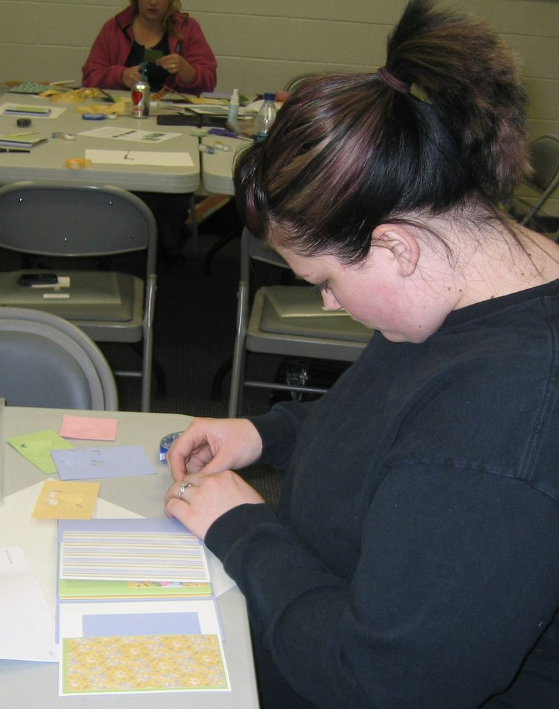 Hollie - Profile working on project