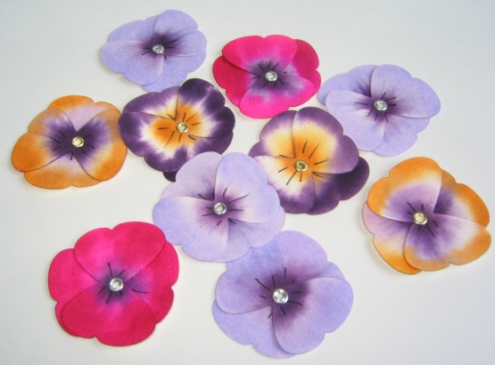 Bouquet of Pansies