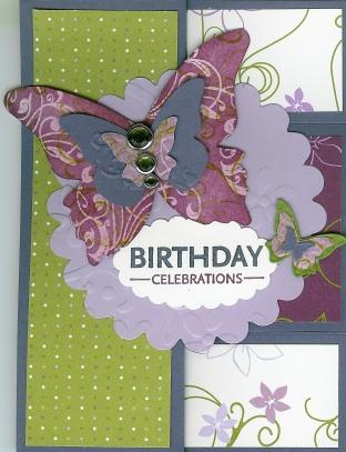 Butterflies Tri-Shutter Card - Cassie (2)