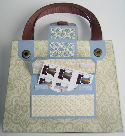 Nancy's Purse Gift Set - purse back postage
