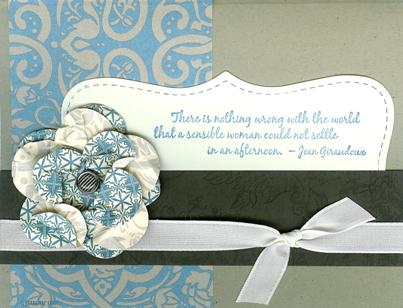 Favorite Thoughts Paper Flower