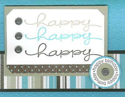 Happy Everything birthday card