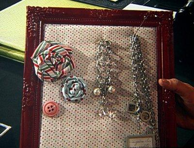 Sara - jewelry bulletin board