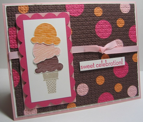 Sweet scoops embedded circles - horizontal