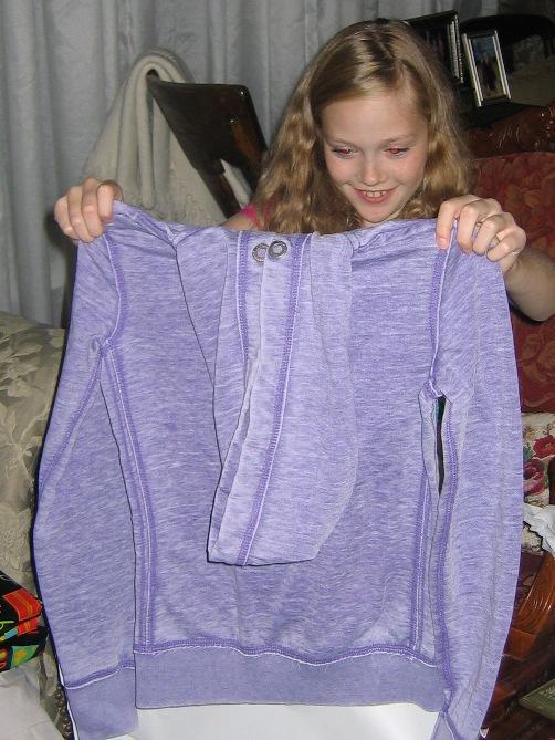 Sammi's hoodie