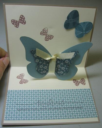 Flight of the butterfly popup inside - Carmen