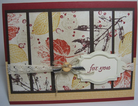 French foliage collage panels
