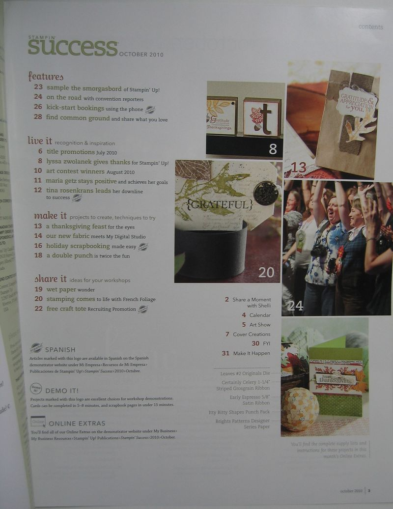 Angie in stampin success 001
