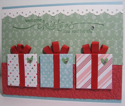Candy cane gifts three