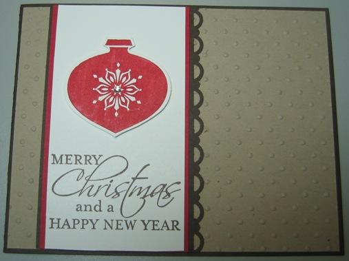 Darla - tags til christmas ornament