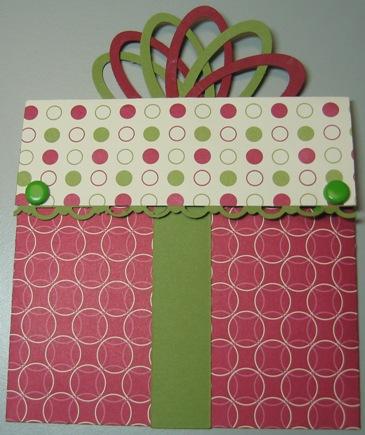 Carmen - present gift holder jolly