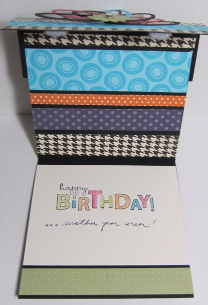 Dawn's birthday card 2011 - inside