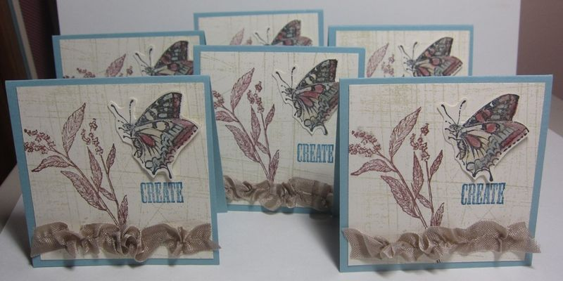Jan thank you cards - several