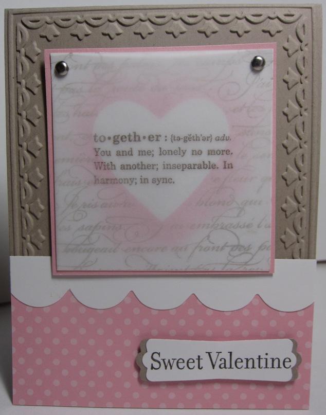 Sweet valentine - together