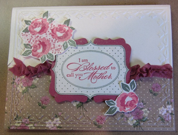Michelle - baby blossom rose red