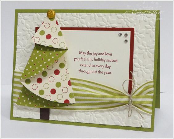 Folded Christmas Tree - connie babbert