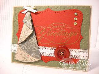 Folded Christmas Tree - diana gibbs