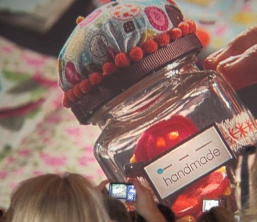Swaps - pin cushion jar