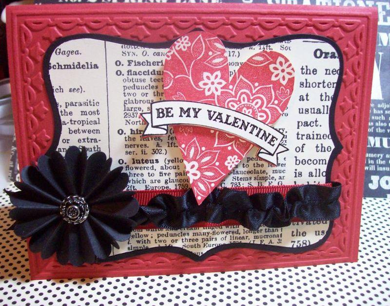 Michelle - valentine card