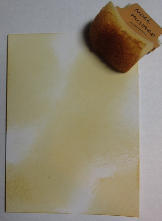 Mother of pearl - 1 mustard