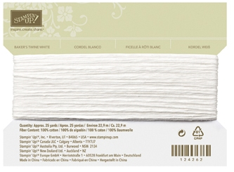 Bakers twine white 124262L