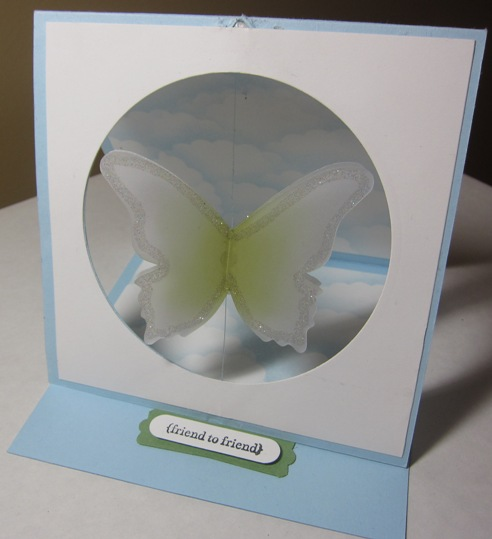 Club - butterfly spinner front