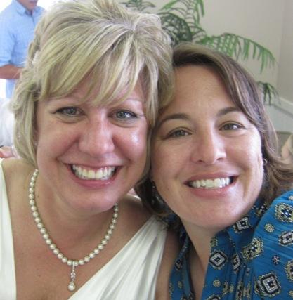 Susan & me at her wedding