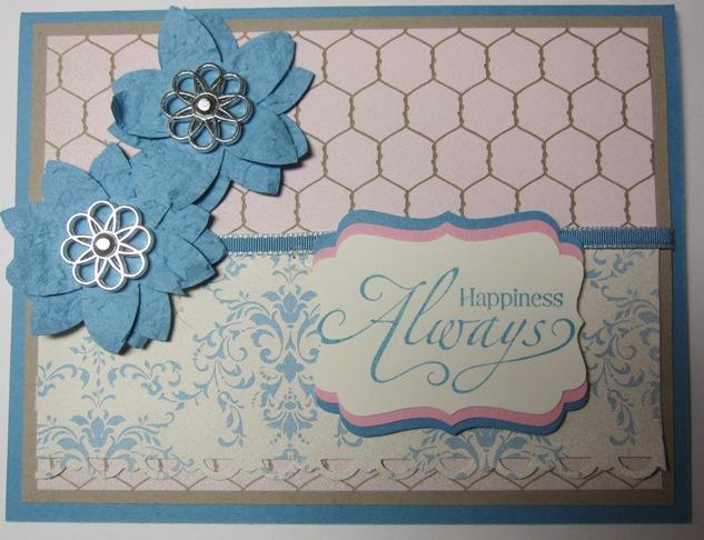 Hoover flowers - 5-petal faux
