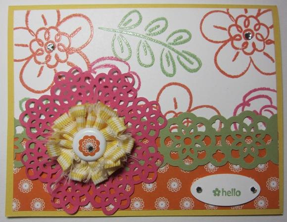 Hoover flowers - shaggy ribbon