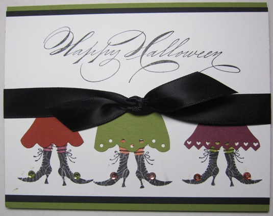 Witch dress card 1