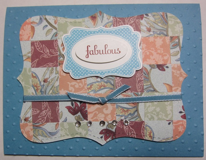 Four frames - marina quilt