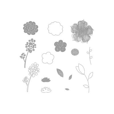 Raining flowers 122767L