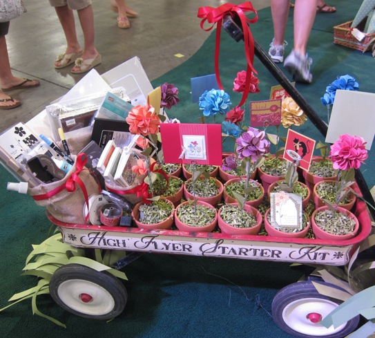 2011 Convention - flowers wagon