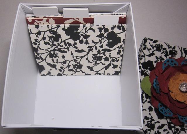 Card box inside