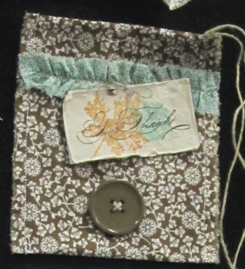Project - spice pull purse