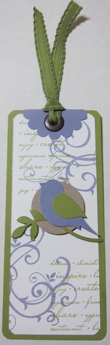 Demo - bird bookmark darla