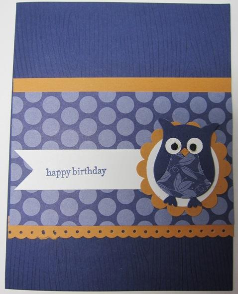Club  - carmen owl card