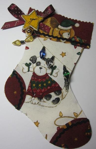 Stocking - connie fabric