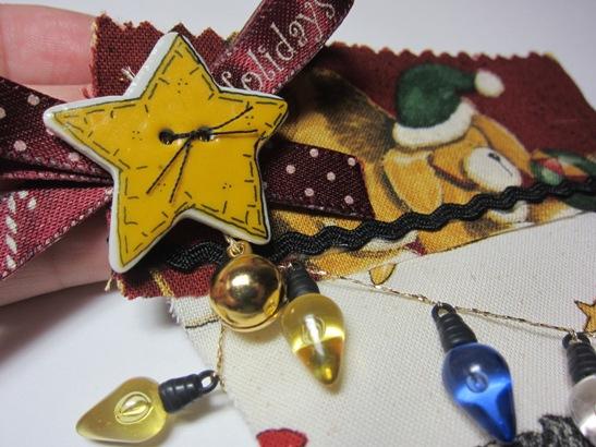 Stocking - connie fabric closeup