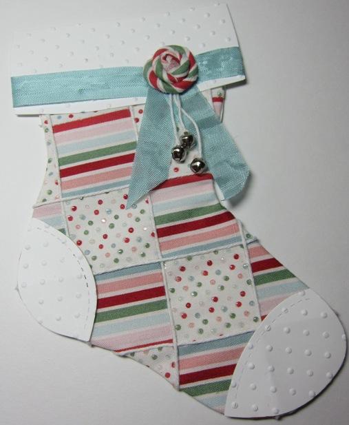 Stocking - darla candy cane